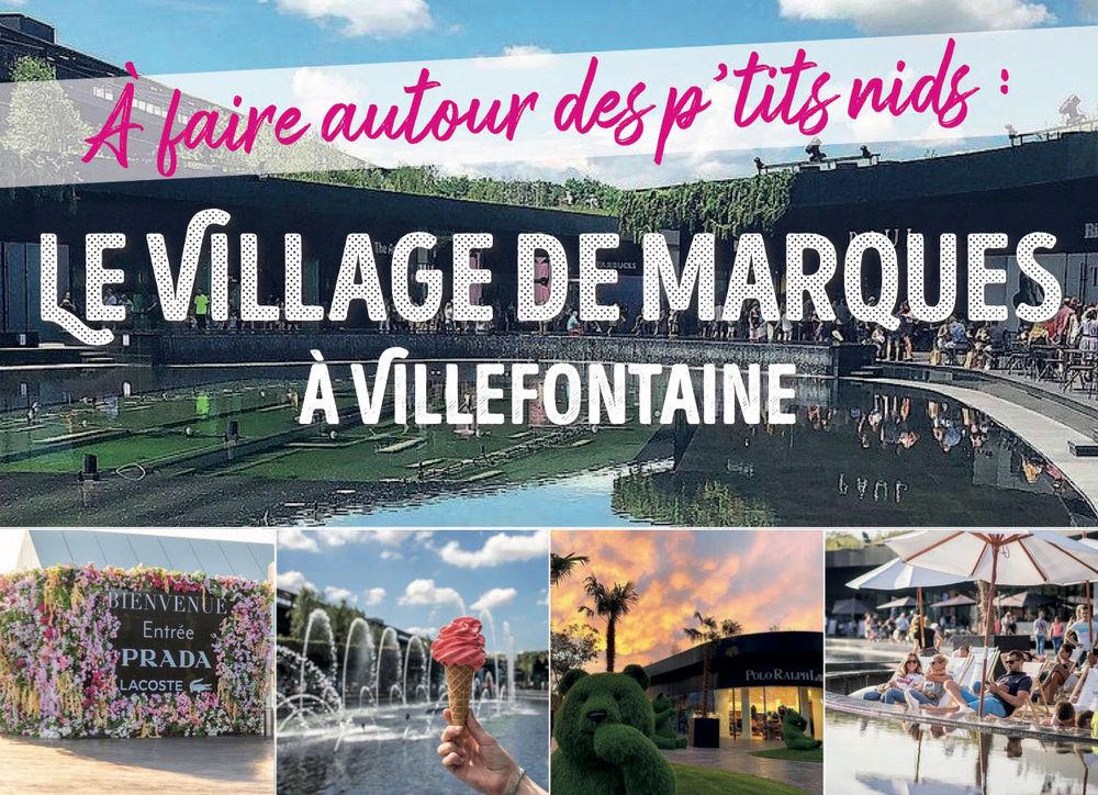 Le Village de marques à Villefontaine