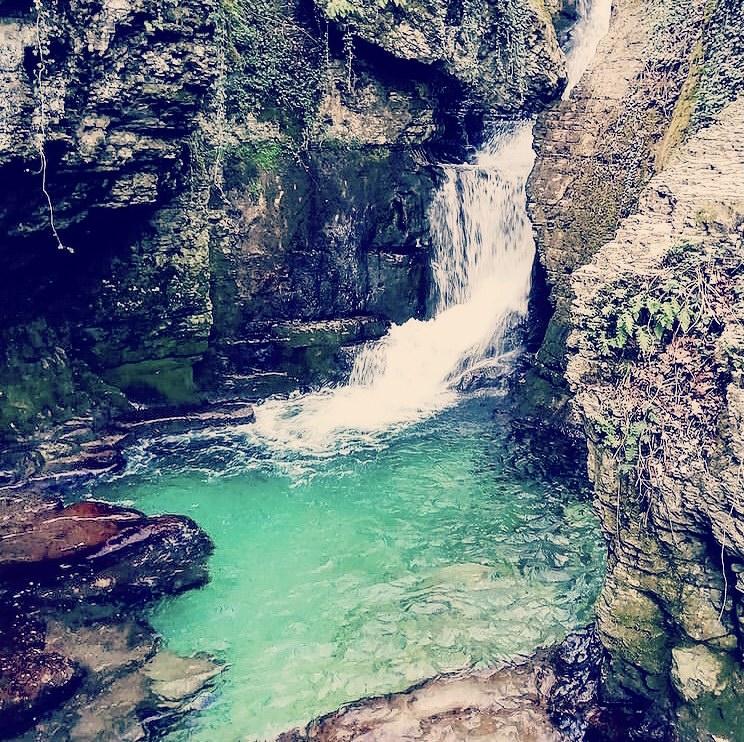 La cascade et grotte de Sassenage